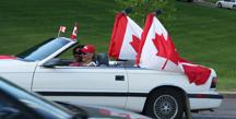 Canada Day Flag CAr-w