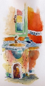 Riad Catalina Bath-w