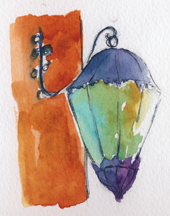 Riad Catalina Lantern-w