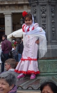 Spanish Girl in Costume