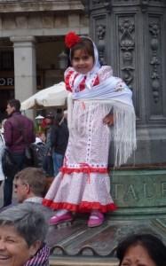Spanish Girl in Costume