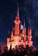 Disney Castle-w