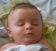 Ethan Sleeping-w