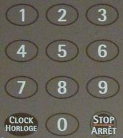 Oven Keypad-w