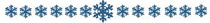 snowflake divider-w