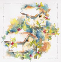 Pausegarden Birdhouses-w