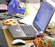 eat at desk-w