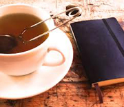 tea and journal-w