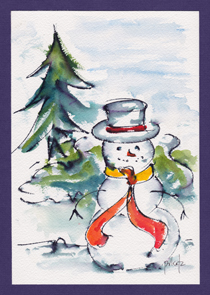Frosty The Snowman-w