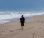 Beach Walking-w