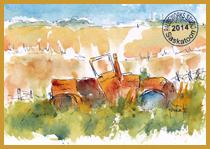 Prairie Rustbucket PW Postcard-w