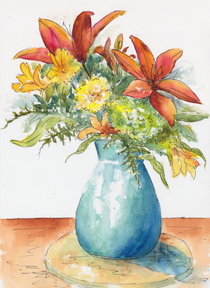 May Spray Floral4-w
