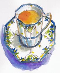 Tea Cup-w