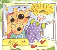 Goldilocks 3 bears-w