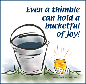 Thimble Bucket Joy-w