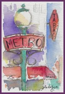 Metro Paris-outline-w