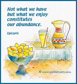 Lemons & Lemonade - Abundance Quote-300w-100-border-credit