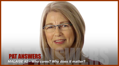 Episode #2: Malaise – Who cares? Why does it matter?