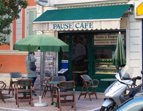 Pause Cafe Menton France