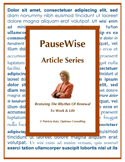 PauseWise Cover