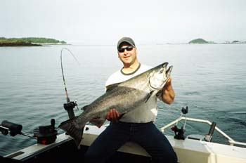 Phil R 32 Lb Salmon