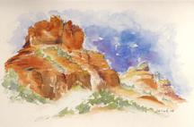 Bell Rock Sedona-w